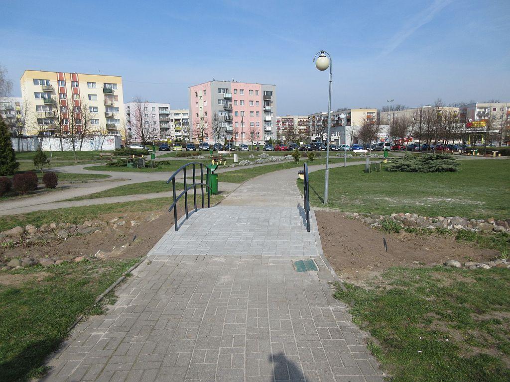 Ilustracja do informacji: Zmiany w Parku przy ul. Szymanowskiego/Chopina