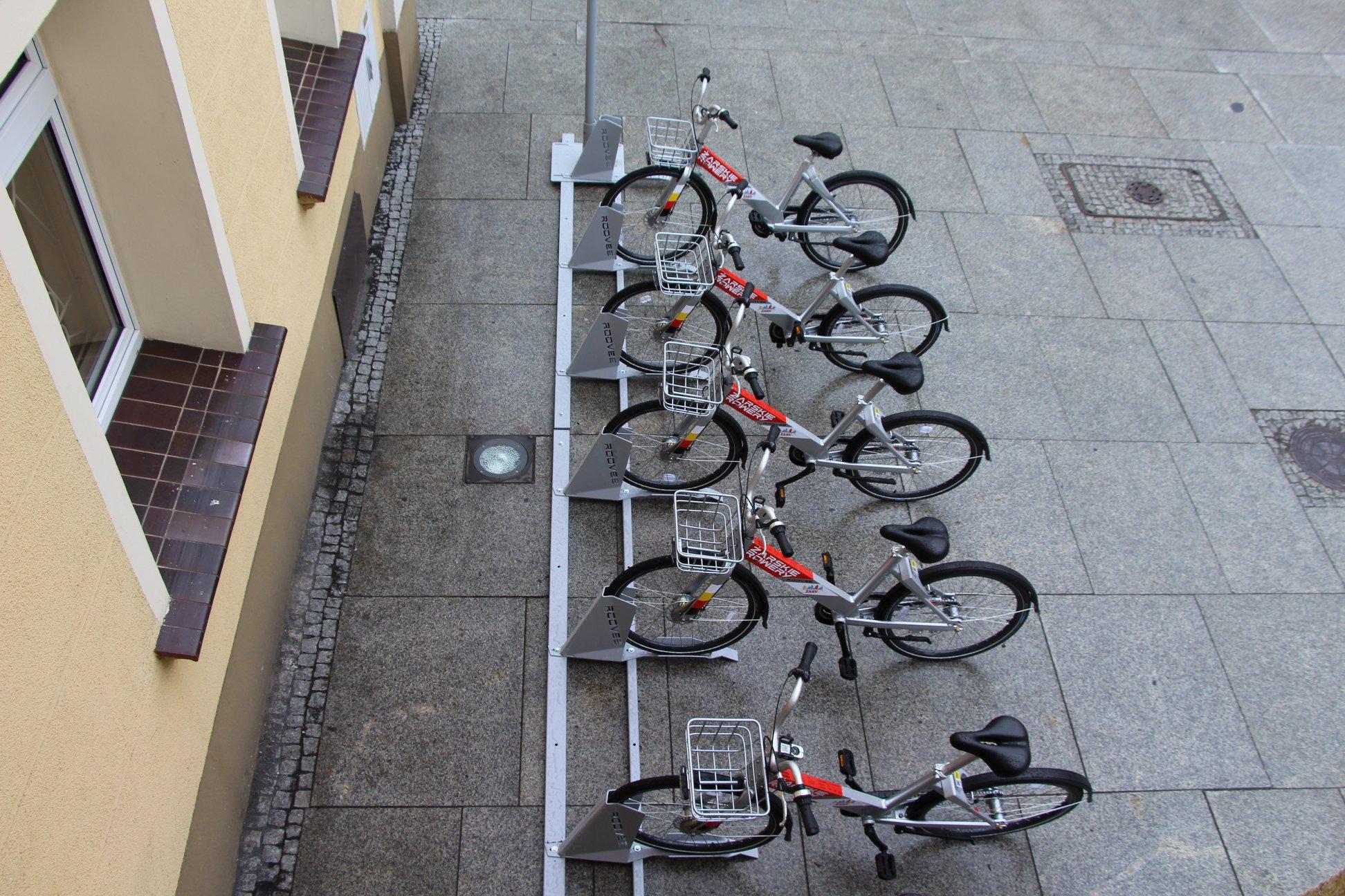 Ilustracja do informacji: Żarskie rowery