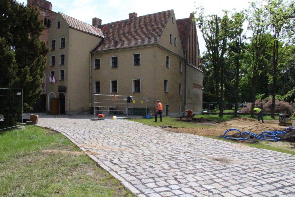 Ilustracja do informacji: Budowa ścieżki historycznej