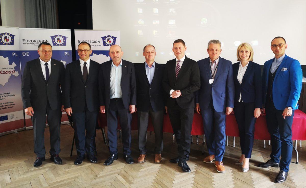 Ilustracja do informacji: Żary w konwencie Euroregionu