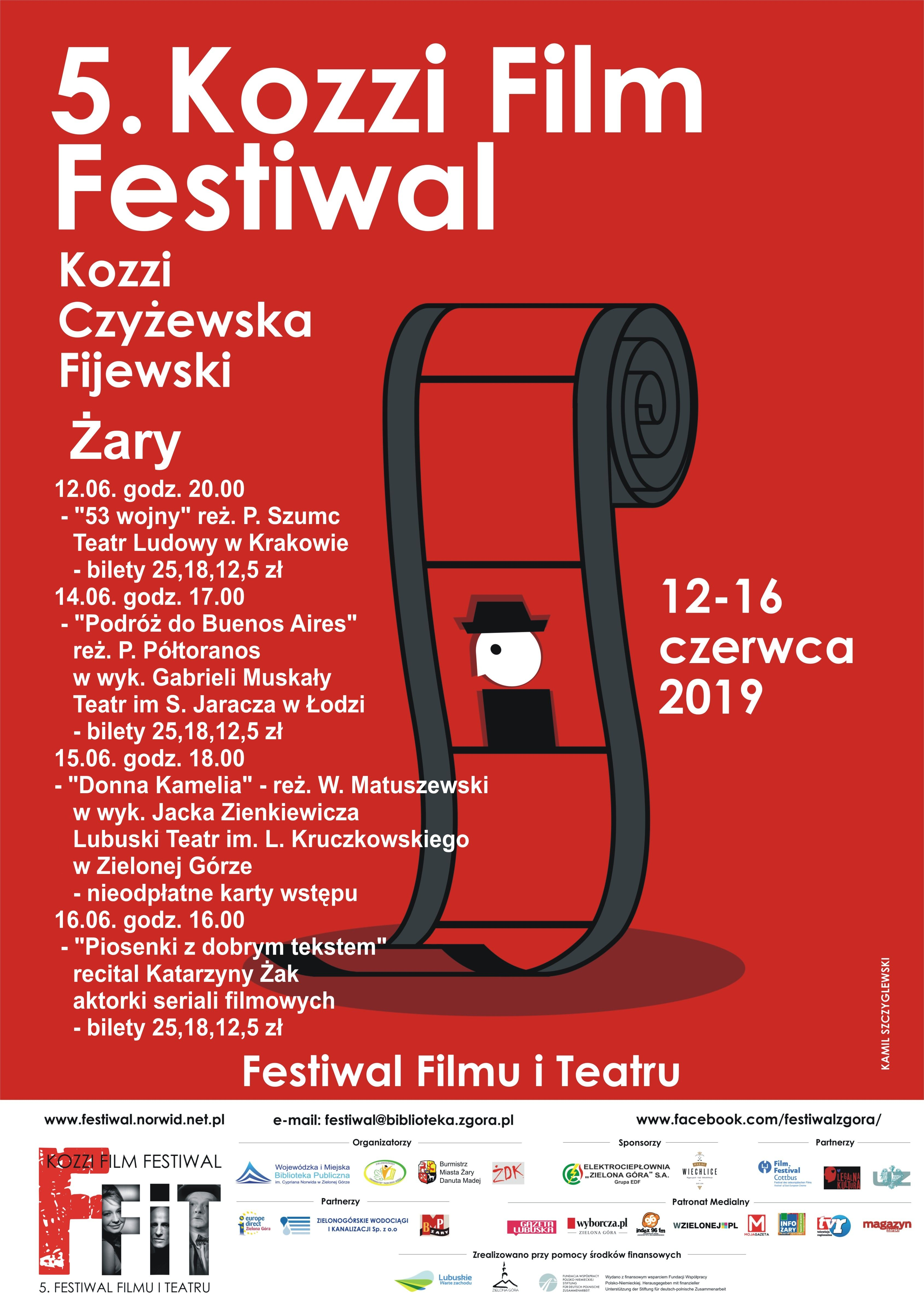 Ilustracja do informacji: Festiwal Filmu i Teatru