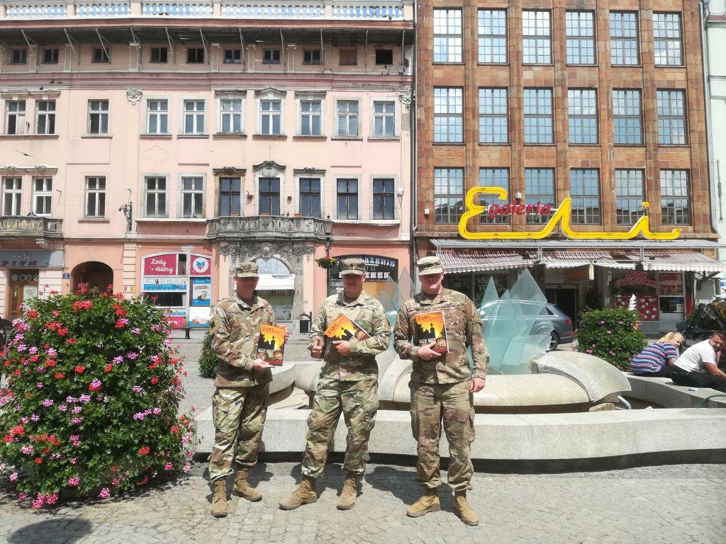 Ilustracja do informacji: Wizyta US Army w Żarach
