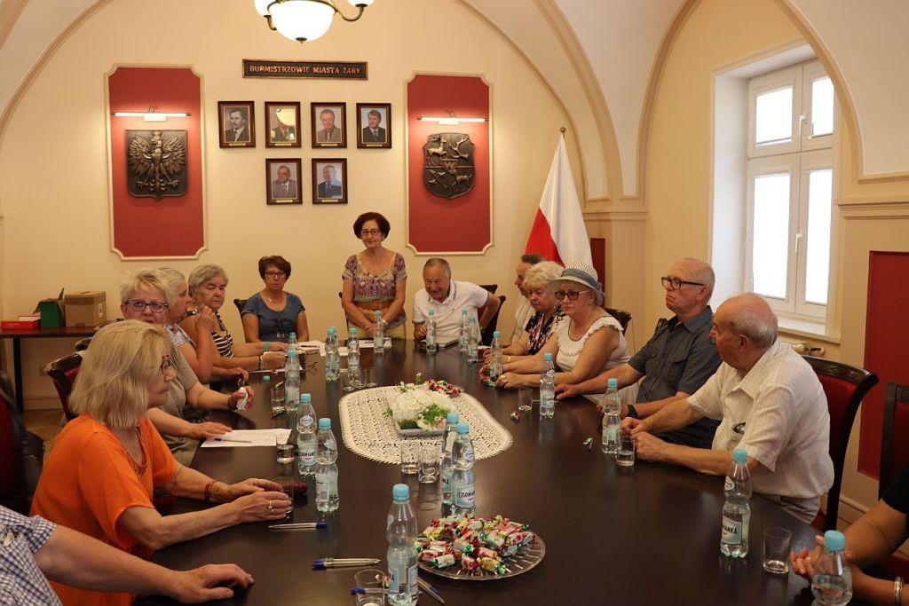 Ilustracja do informacji: Pierwsze posiedzenie II kadencji Miejskiej Rady Seniorów