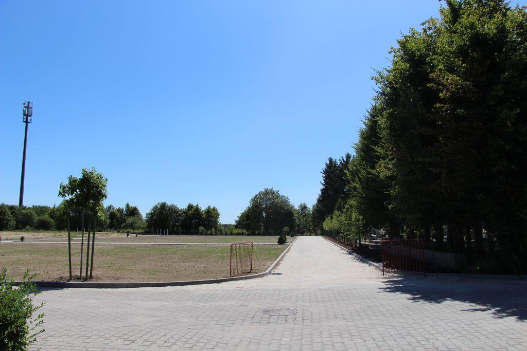 Ilustracja do informacji: Zagospodarowanie terenu - cmentarz komunalny ul. Szpitalna