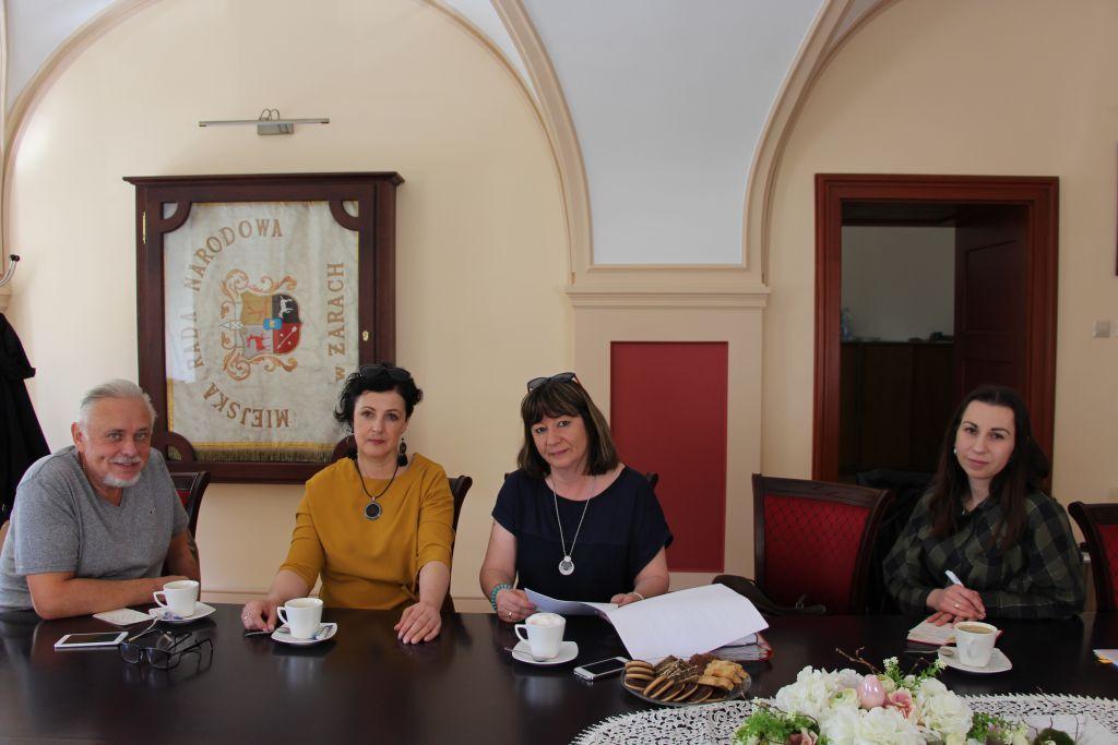Ilustracja do informacji: Spotkanie Zarządu