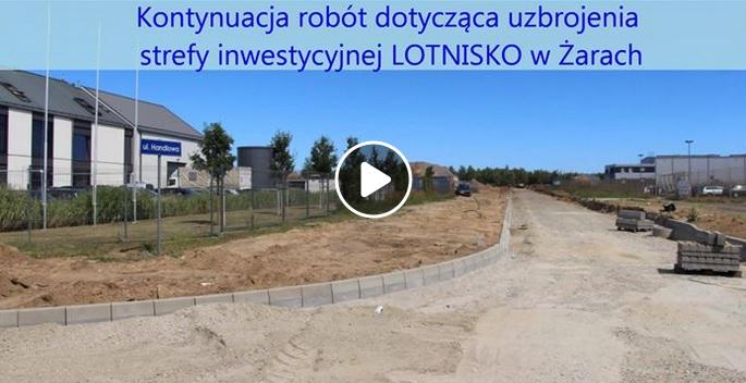 Ilustracja do informacji: Kontynuacja robót - uzbrojenie strefy inwestycyjnej LOTNISKO