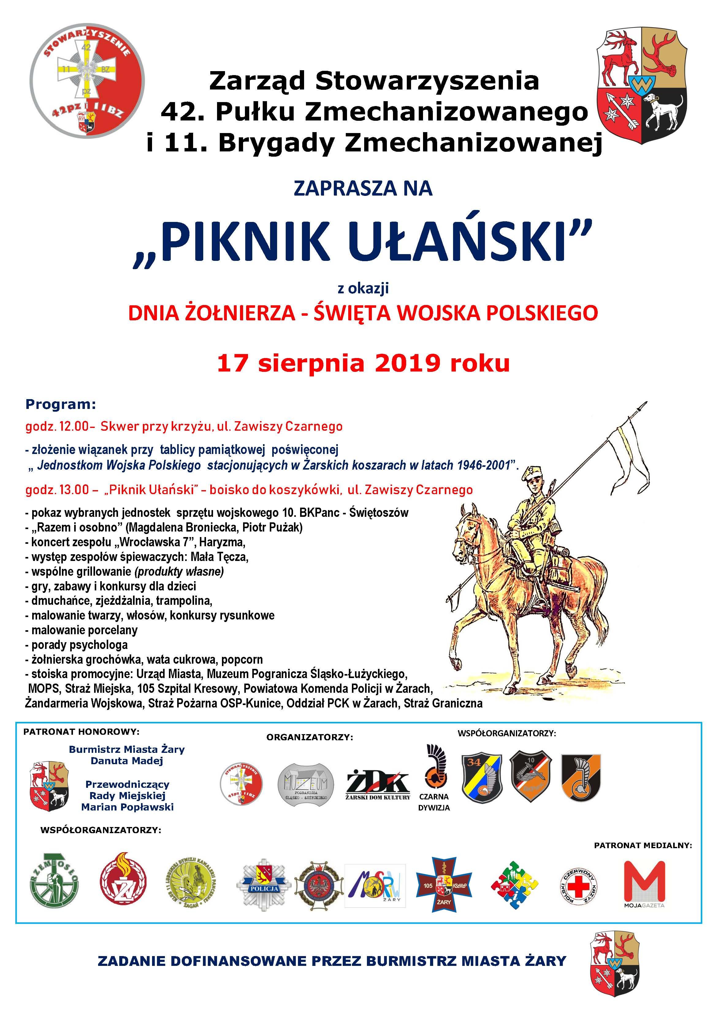 Ilustracja do informacji: Piknik Ułański