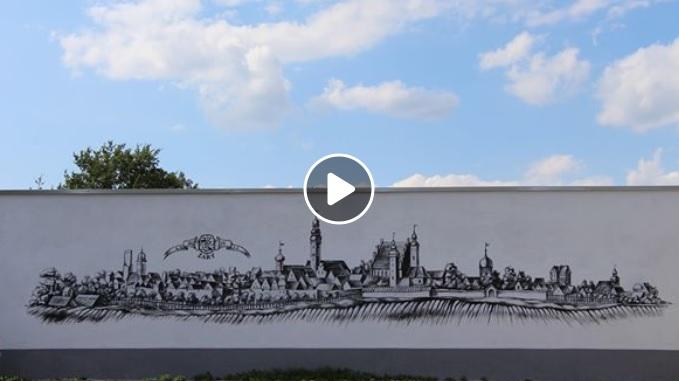 Ilustracja do informacji: Murale w Żarach