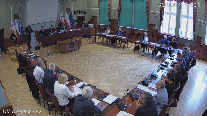 Ilustracja do informacji: XI sesja Rady Miejskiej – nagranie VIII