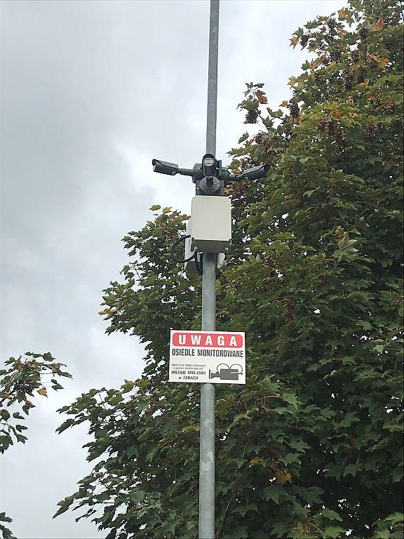 Ilustracja do informacji: Monitoring wizyjny osiedla przy ul. Zawiszy Czarnego