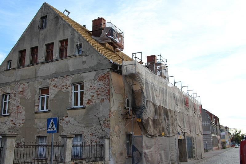 Ilustracja do informacji: Remont – ul. Mieszka I 24