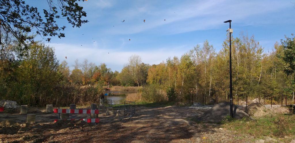 Ilustracja do informacji: Dawne kąpielisko w Kunicach