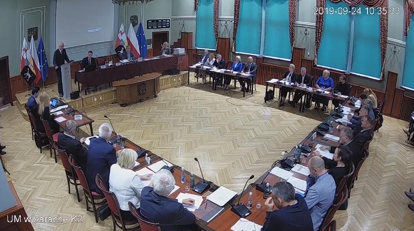 Ilustracja do informacji: XI sesja Rady Miejskiej – nagranie VII