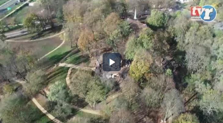 Ilustracja do informacji: Winny domek w centrum zabytkowego parku