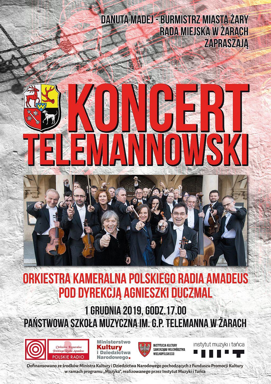 Ilustracja do informacji: Koncert Telemannowski