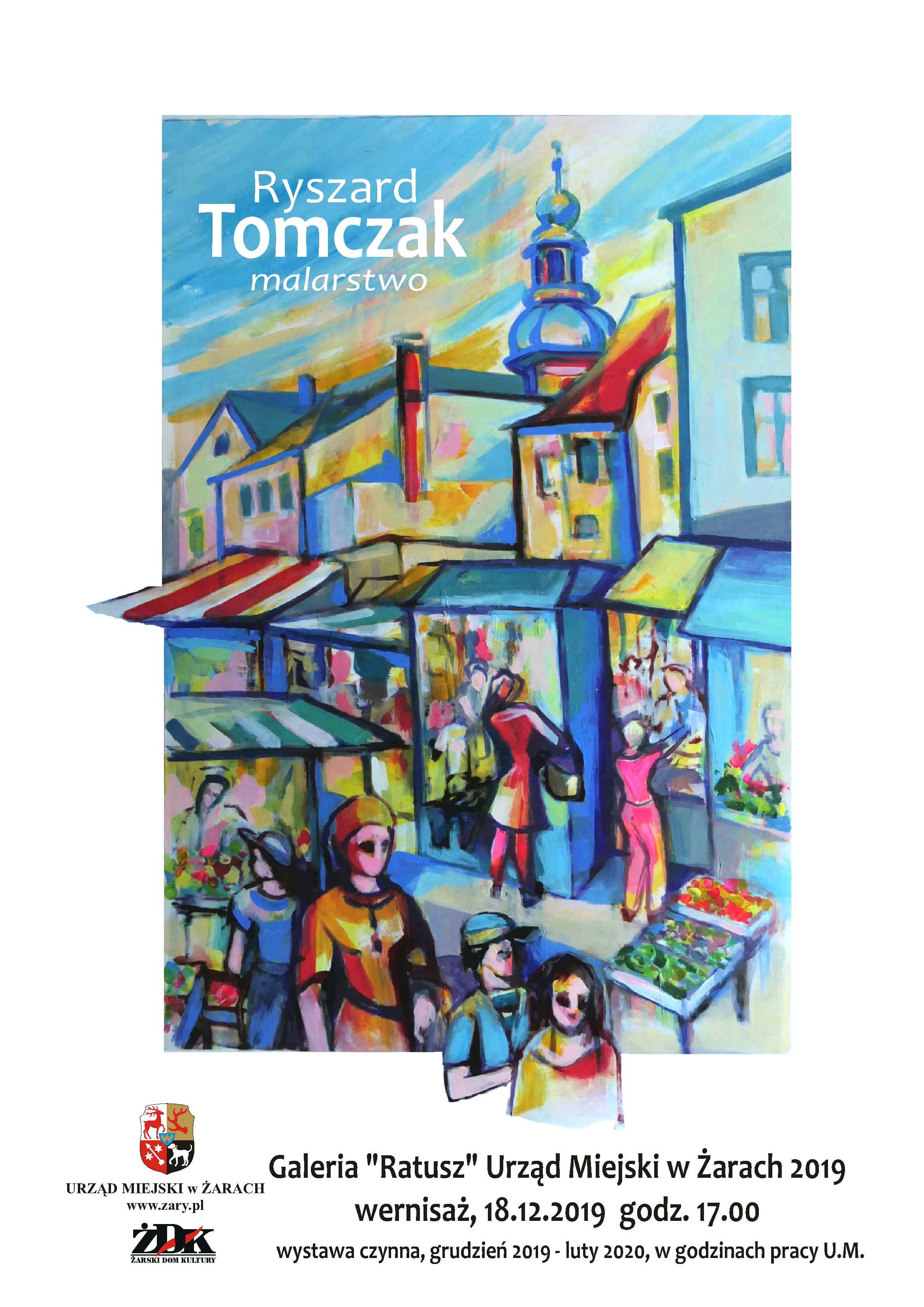 Ilustracja do informacji: Ryszard Tomczak - malarstwo