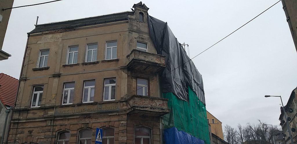 Ilustracja do informacji: Trwają roboty budowlane – ul. Żagańska 24