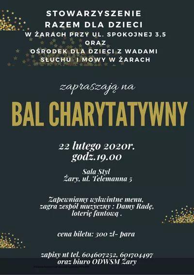 Ilustracja do informacji: Pod Honorowym Patronatem Burmistrza Miasta Żary