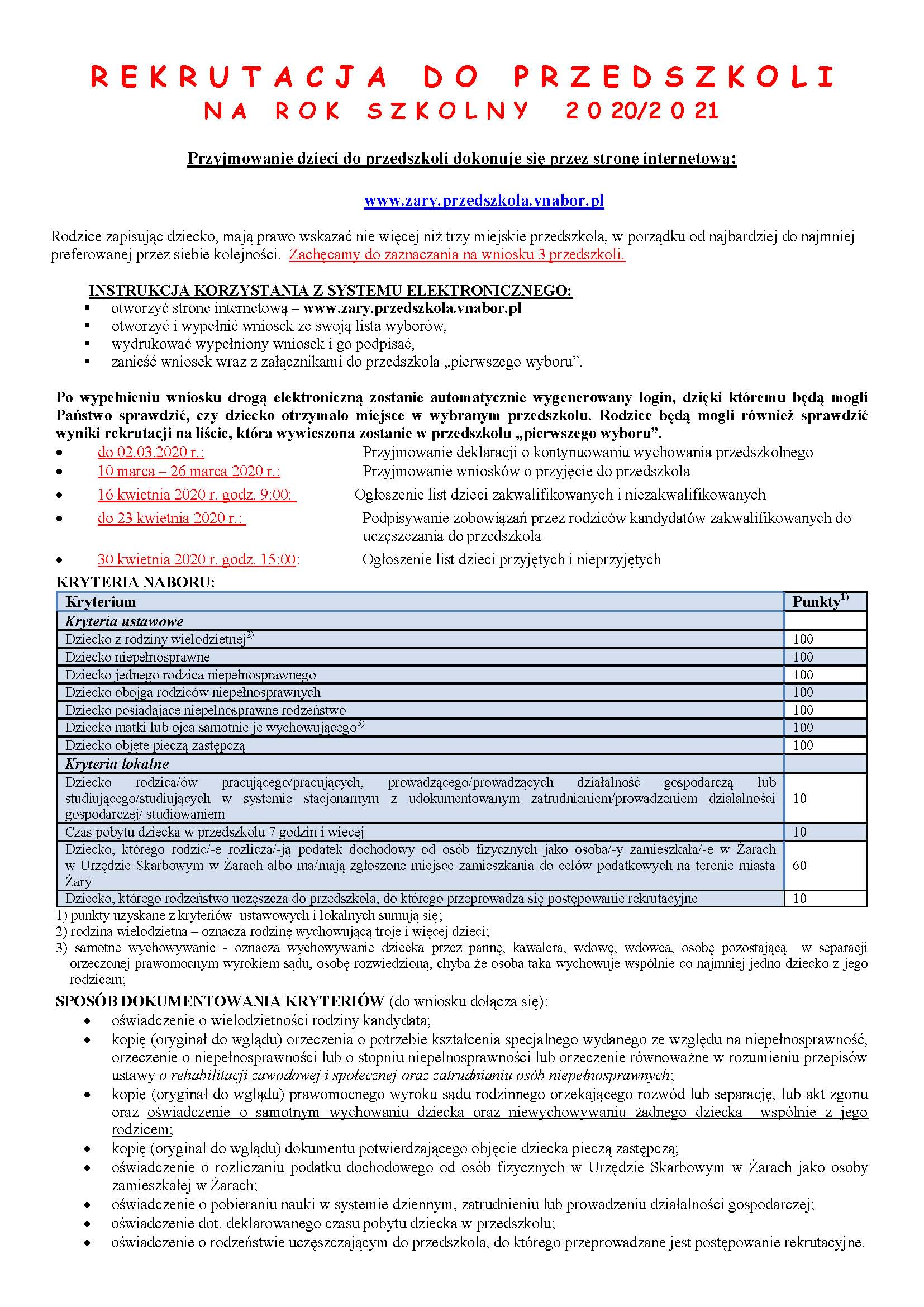Ilustracja do informacji: Rekrutacja do przedszkoli na rok szkolny 2020/2021