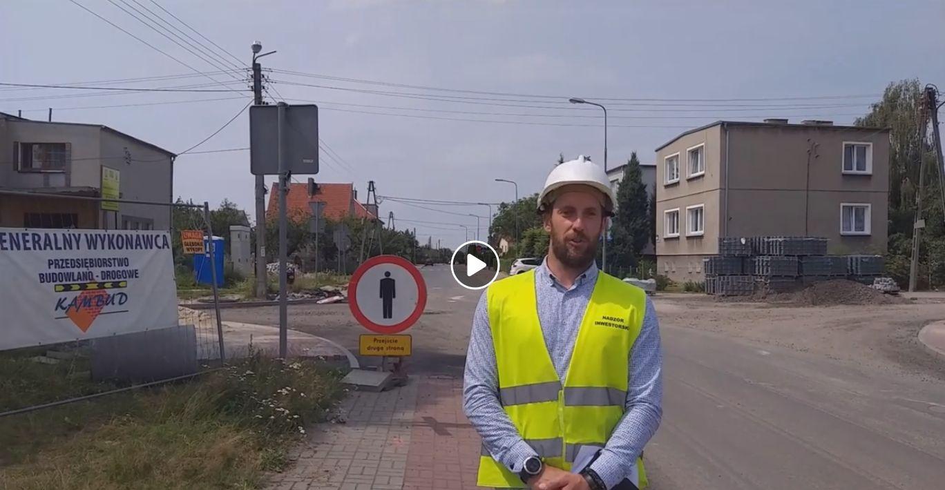 Ilustracja do informacji: Przebudowa skrzyżowania ul. Kujawskiej z ul. Tatrzańską