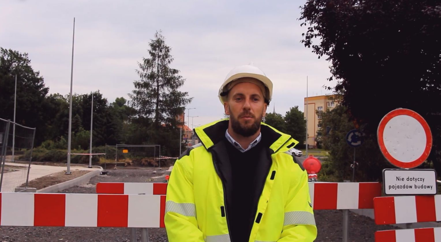 Ilustracja do informacji: Utrudnienia przy przebudowie ul. Zielonogórskiej