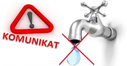 Ilustracja do informacji: Przerwa w dostawie wody