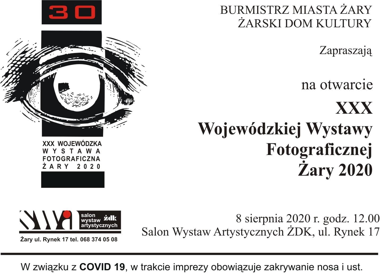 Ilustracja do informacji: XXX Wojewódzka Wystawa Fotograficzna Żary 2020
