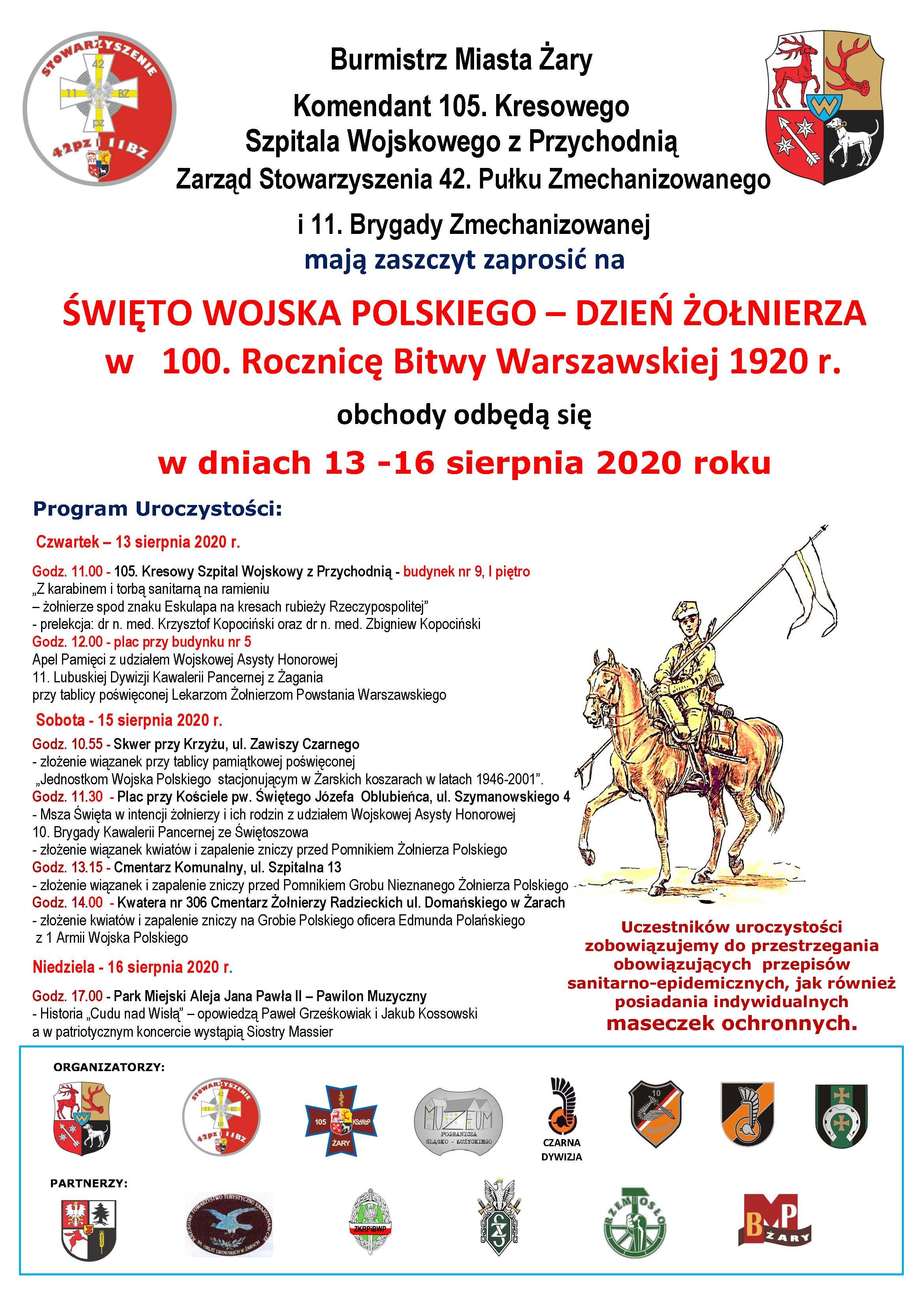 Ilustracja do informacji: Święto Wojska Polskiego