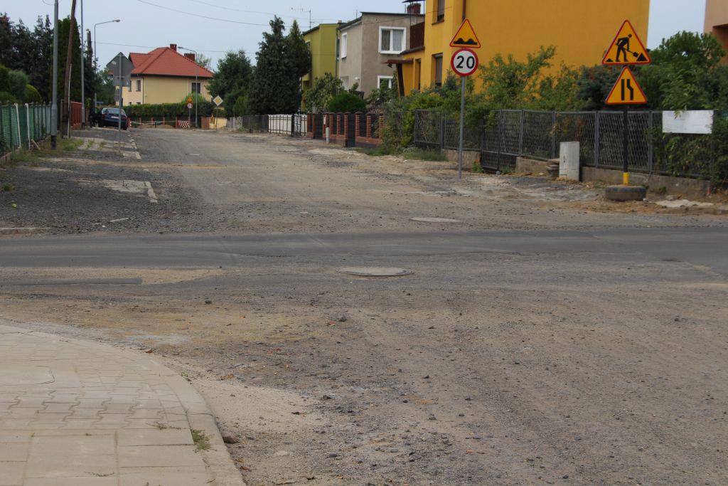 Ilustracja do informacji: Ulica Staszica w Żarach