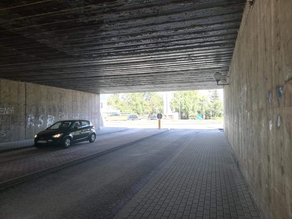 Ilustracja do informacji: Przejazd otwarty – wiadukt ul. Witosa