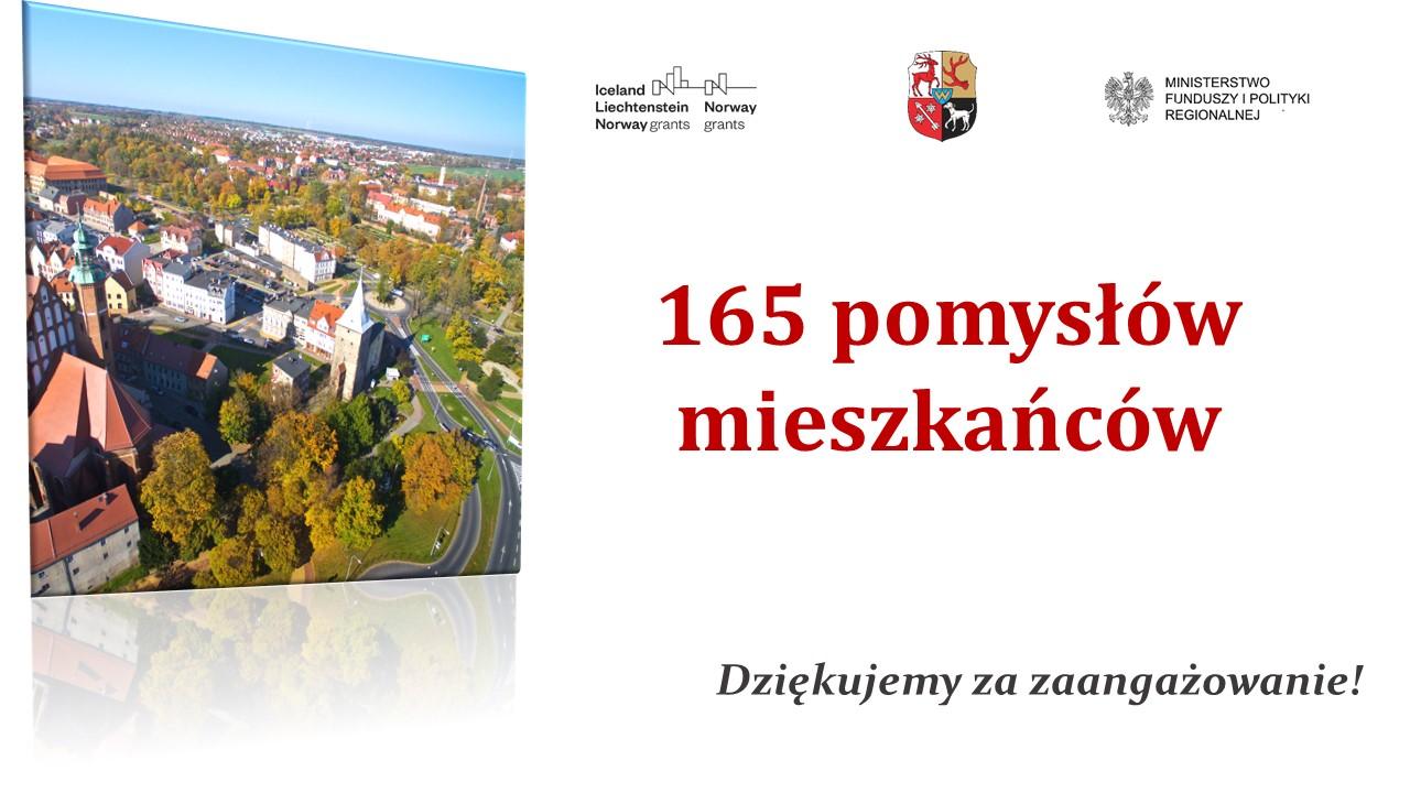Ilustracja do informacji: 165 pomysłów mieszkańców