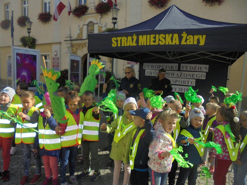 Ilustracja do informacji: Europejski Tydzień Zrównoważonego Transportu w Żarach