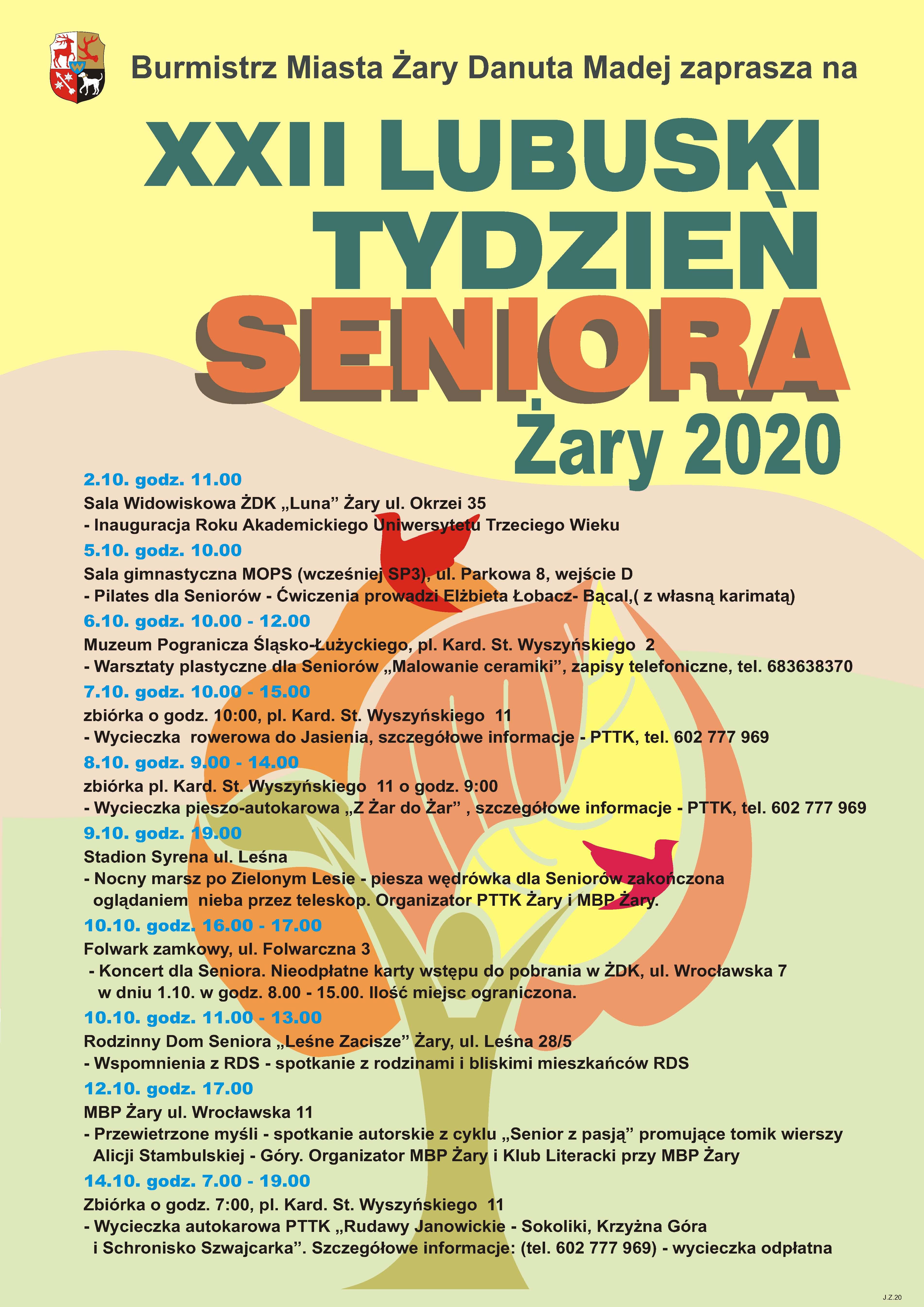 Ilustracja do informacji: XXII Tydzień Seniora