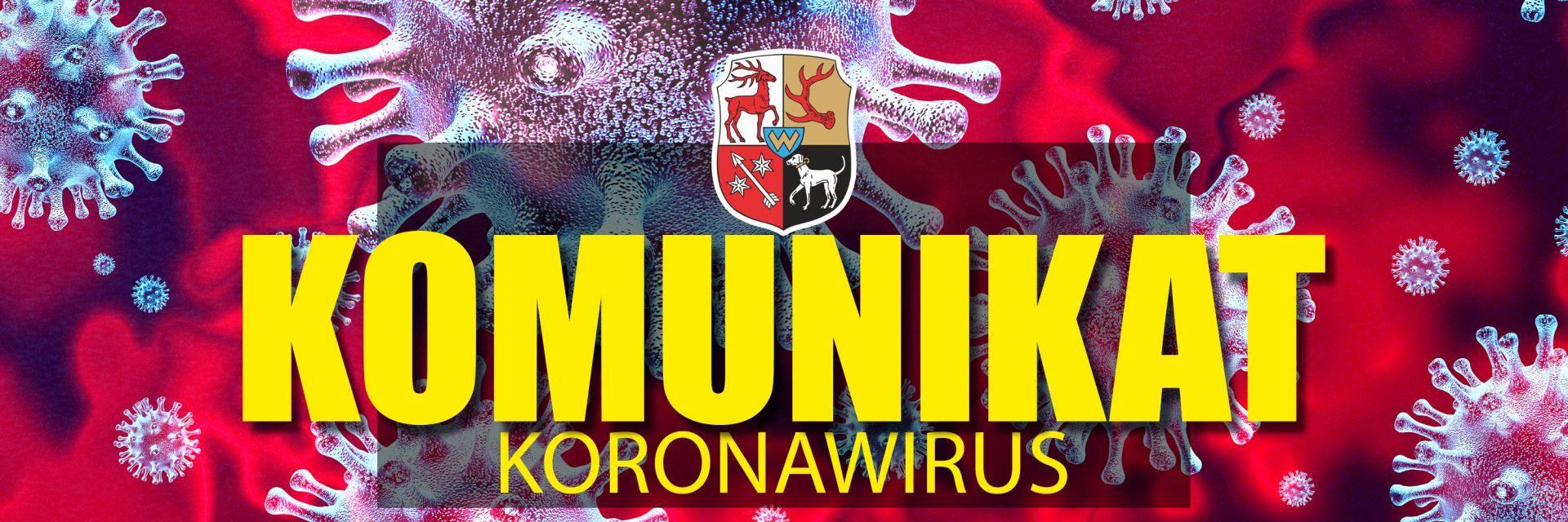Ilustracja do informacji: Komunikat Koronawirus
