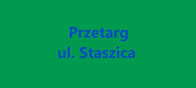 Ilustracja do informacji: Otwarcie ofert na przebudowę ulicy Staszica w Żarach