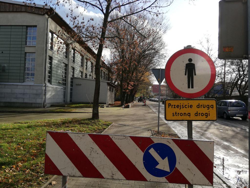 Ilustracja do informacji: Chodnik ul. Edelburgis