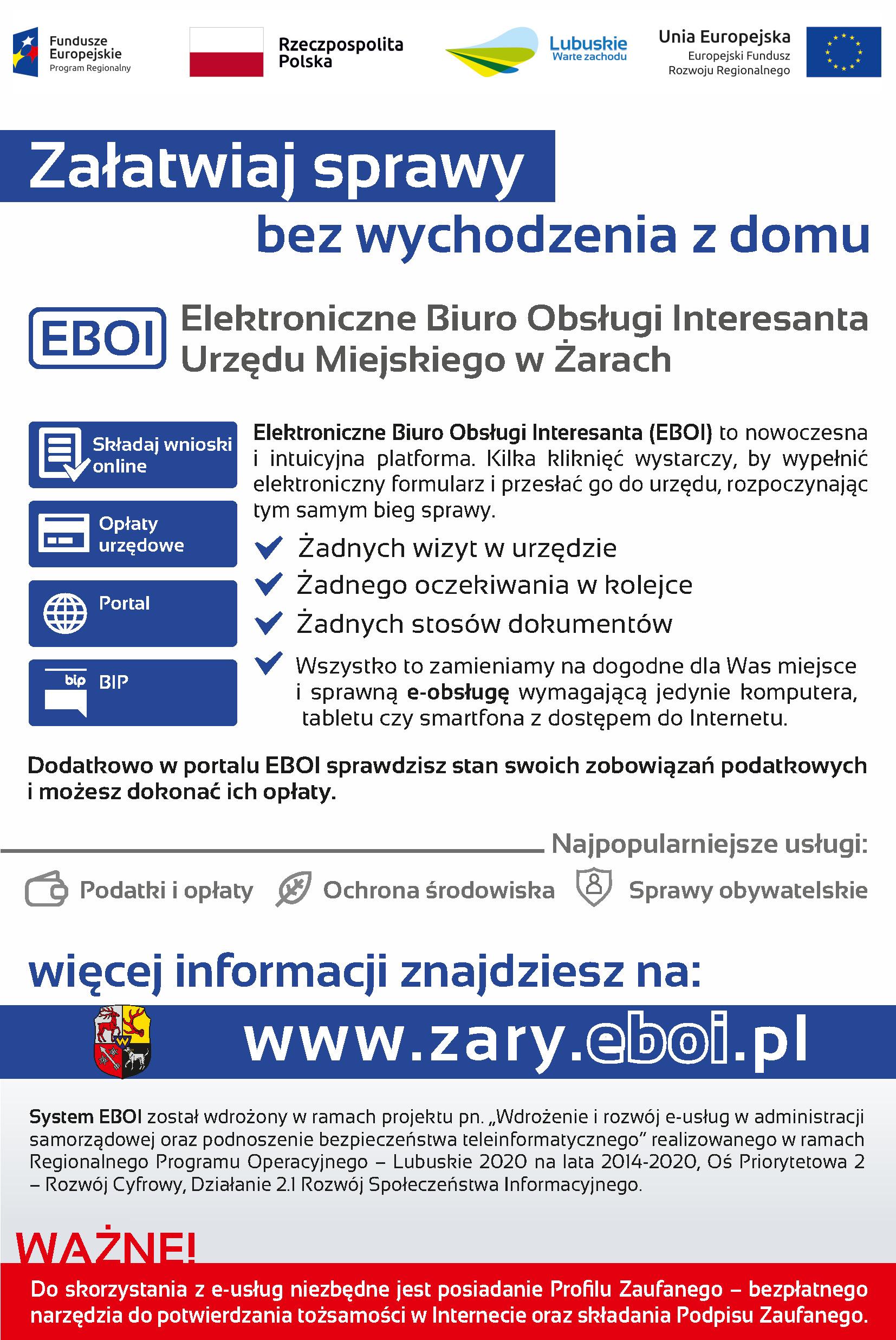 Ilustracja do informacji: Elektroniczne Biuro Obsługi Interesanta