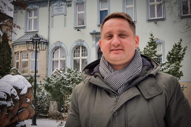 Ilustracja do informacji: Żarska Kultura z nowym dyrektorem!