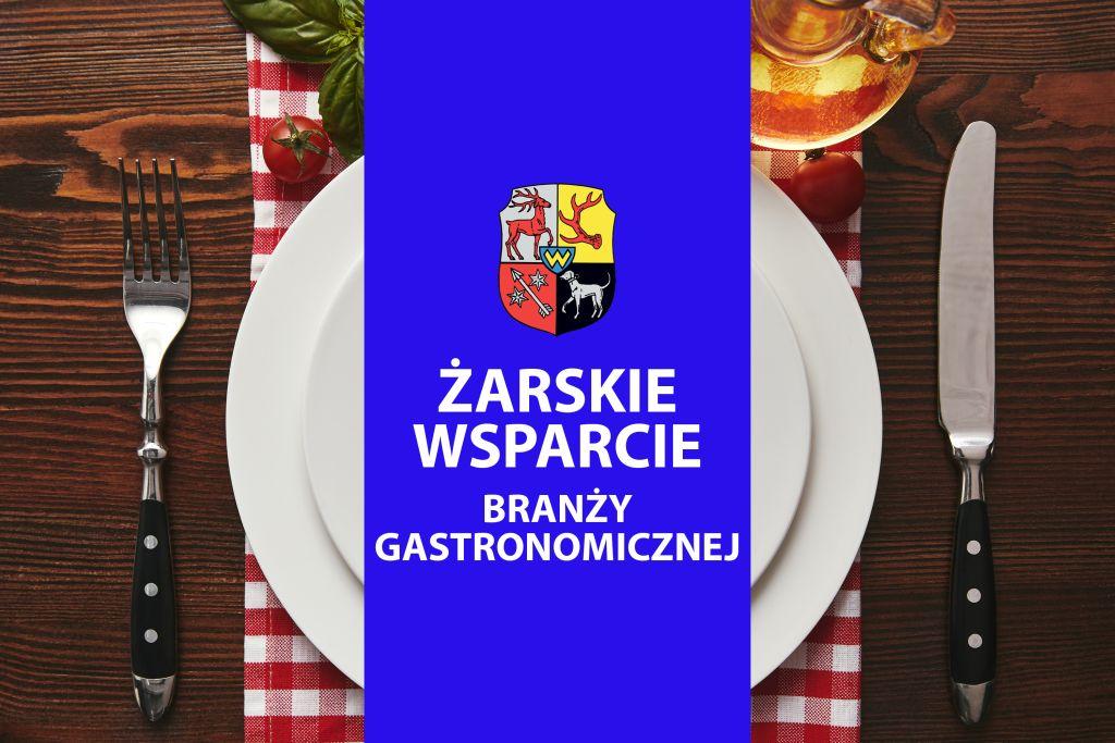 Ilustracja do informacji: Żarskie wsparcie branży gastronomicznej