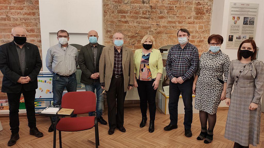 Ilustracja do informacji: Posiedzenie Rady Muzeum