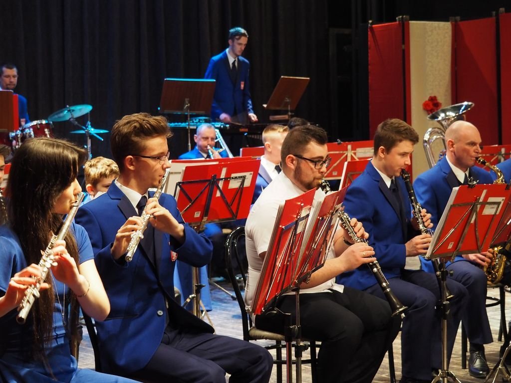 Ilustracja do informacji: Koncert Miejskiej Orkiestry Dętej ŻDK