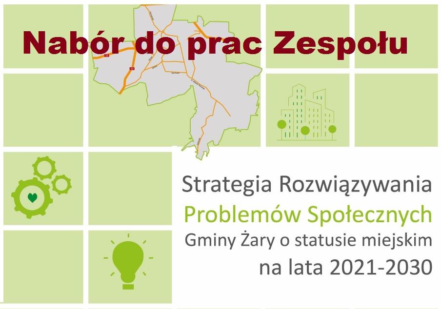 Ilustracja do informacji: Strategia Rozwiązywania Problemów Społecznych Gminy Żary o statusie miejskim na lata 2021-2030