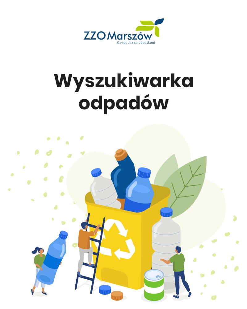 Ilustracja do informacji: Internetowa wyszukiwarka odpadów