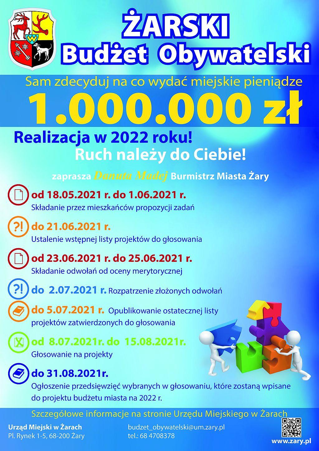 Ilustracja do informacji: Budżet Obywatelski