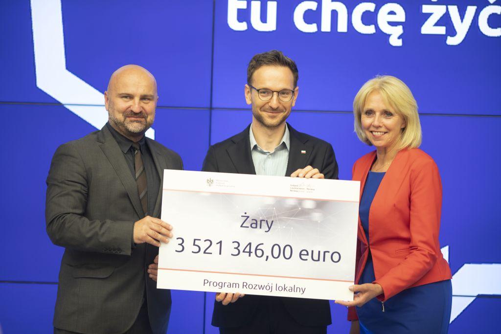 Ilustracja do informacji: Ponad 3,5 miliona euro dla Żar