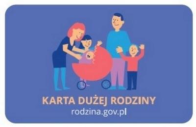 Ilustracja do informacji: Karta Dużej Rodziny