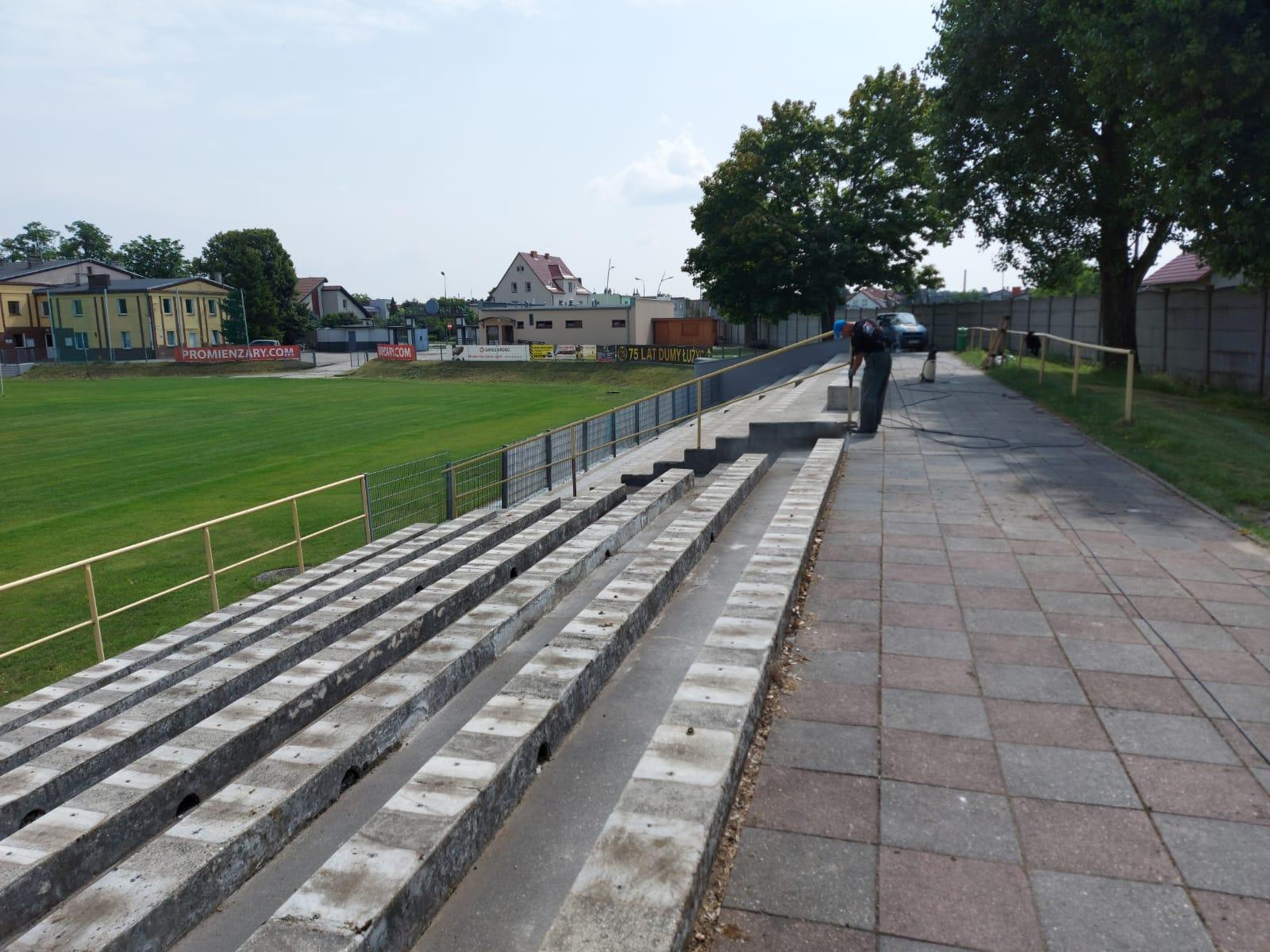Ilustracja do informacji: Stadion Promień