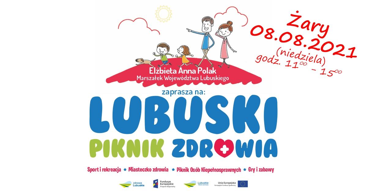 Ilustracja do informacji: Lubuski Piknik Zdrowia w Żarach - zapraszamy wystawców!