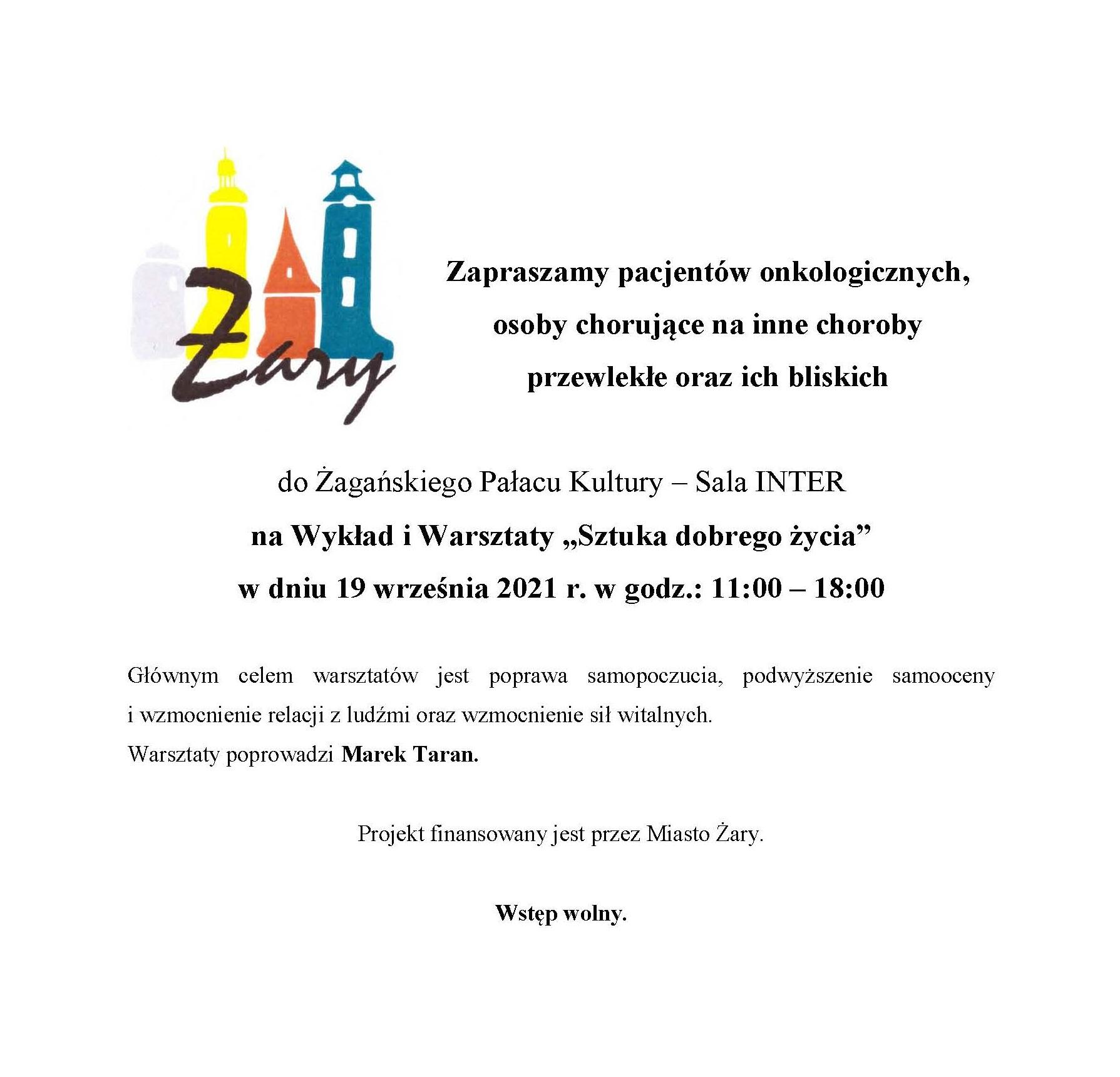 Ilustracja do informacji: Zaproszenie
