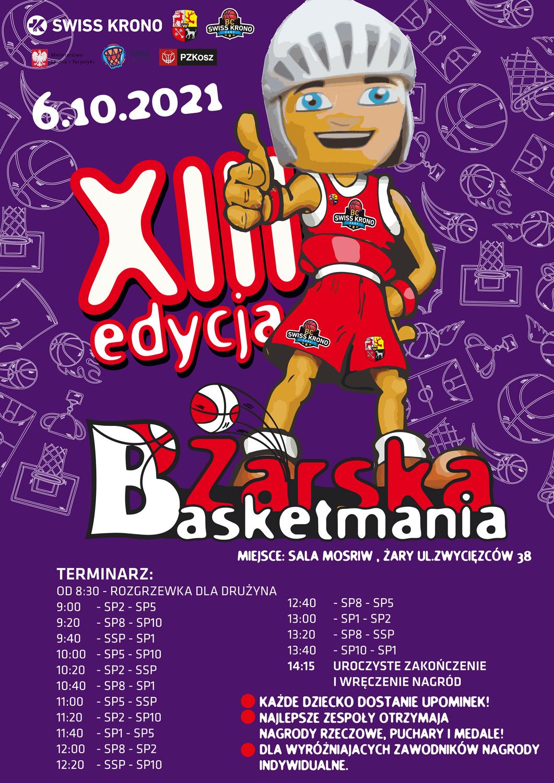 Ilustracja do informacji: Żarska Basketmania